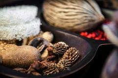 Scented ποτ πουρί aromatherapy και έννοια SPA Στοκ εικόνες με δικαίωμα ελεύθερης χρήσης