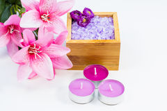 Scented bath products Stock Images