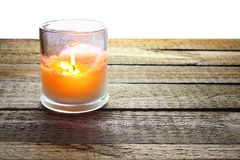 Scented Candle Stock Photo