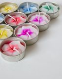 Scented candles Stock Photos