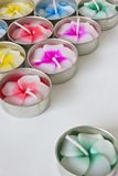 Scented candles Royalty Free Stock Images