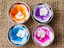 Scented candles Stock Images
