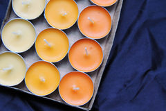 Scented candles and matches Stock Images