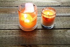 Scented Candles Royalty Free Stock Image
