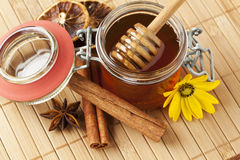 Scented honey royalty free stock images