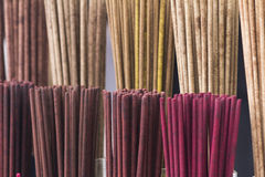 Scented incense sticks Royalty Free Stock Photography