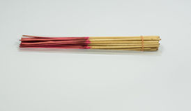 Scented or joss sticks Royalty Free Stock Images