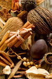 Scented potpourri Stock Photography
