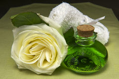 Scented products for body care Stock Images