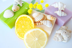 Scented soap Stock Photo