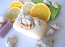 Scented soap Royalty Free Stock Photo