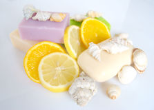 Scented soap Royalty Free Stock Photos