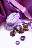 Scented soap for body care Stock Photo