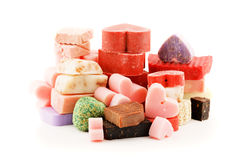 Scented soaps Royalty Free Stock Photography