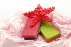 Scented soaps Stock Photos