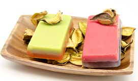 Scented soaps Stock Image
