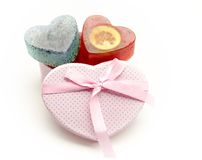 Scented soaps Stock Images