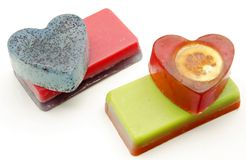 Scented soaps Stock Photo