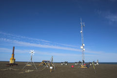 Scentific weather stations Stock Photography