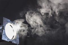 Sceny światła dym Zdjęcie Stock