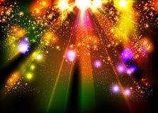 Sceny światło reflektorów Zdjęcie Royalty Free