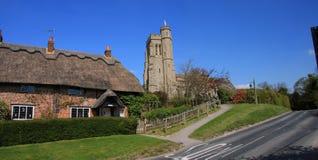 sceny angielska wioska fotografia stock