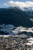 sceny austriacka zima Fotografia Stock