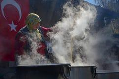 Sceny robić molasie od sugarbeet zdjęcie royalty free