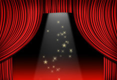 sceny theatre obrazy royalty free