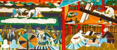 sceny tkanina Obrazy Stock