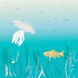 sceny underwater royalty ilustracja