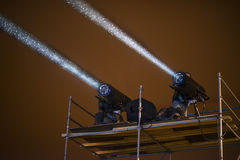 Sceny światło reflektorów Zdjęcie Stock