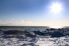sceny zimowe obraz stock