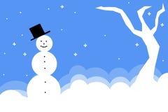 sceny zimowe ilustracji