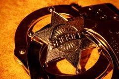 Sceriffo Immagini Stock Libere da Diritti