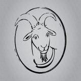 Scetch de la cabra Fotos de archivo libres de regalías
