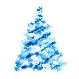 Scetched Christmas tree Stock Photos