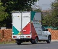 SCG拾起货物卡车 库存图片