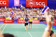 SCG Thailand Open 2012 Royalty Free Stock Image