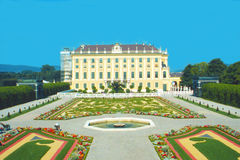 Schönbrunn castel in Vienna. Stock Photography
