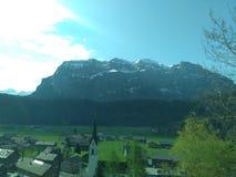 Schön del sind de Berge en Austria Foto de archivo