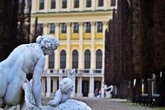 Schönbrunn, Gloriette, Wien Royalty-vrije Stock Fotografie