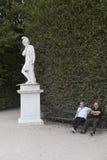 Schönbrunn ogród zdjęcie royalty free