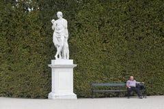Schönbrunn ogród obrazy royalty free