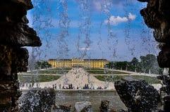 Schönbrunn-Palast stockfotos