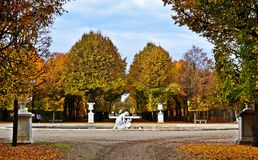 Schönbrunn park Obraz Stock