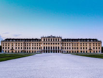 Schönbrunn slott Arkivfoto