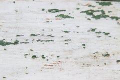 Schäbige alte grüne hölzerne Bretter der Beschaffenheit Lizenzfreies Stockbild