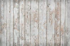 Schäbige hölzerne Planken, Weiß und Siena brünieren Lizenzfreie Stockfotos