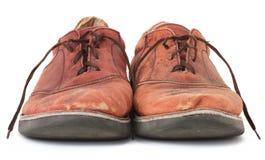 Schäbige Schuhe Stockfoto